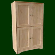 Armoires, Cabinet Units & Wardrobes